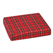 DMI® 16 x 18 x 3 Polyfoam Convoluted Wheelchair Cushion, Polyester/Cotton Cover, Plaid