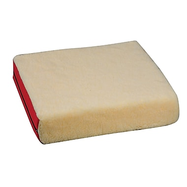 DMI® 16in. x 18in. x 4in. Polyfoam Wheelchair Cushion, Fleece Cover, Burgundy