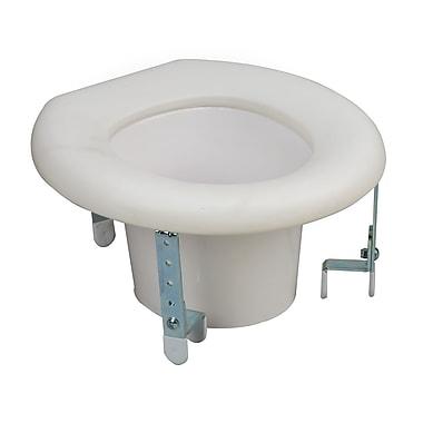 DMI® Universal Plastic Raised Toilet Seat, 250 lbs.