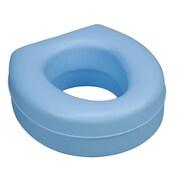 DMI® Deluxe Plastic Toilet Seat Riser, 250 lbs., Blue