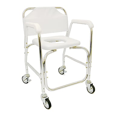DMI® Shower Transport Chair, 250 lbs.