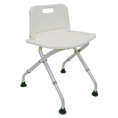 DMI® Folding Shower Seat With Backrest, 250 lbs.