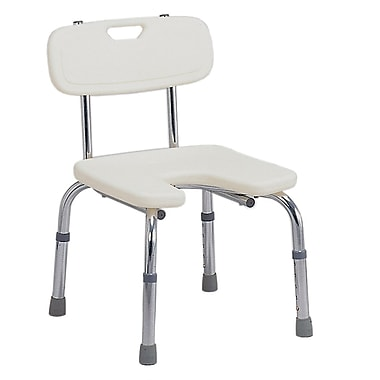 DMI® Hygienic Bath Seat With Backrest, 250 lbs.