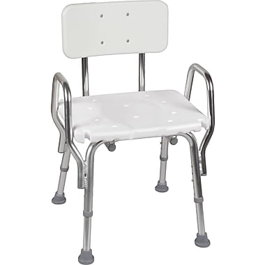 DMI® Shower Chair With Backrest, 350 lbs.