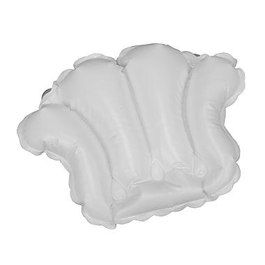 HealthSmart™ 22in. x 14 1/2in. Inflatable Bath Pillow, White