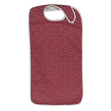 DMI® Polyester/Cotton Mealtime Protector With Hook and Loop, Fancy Rose