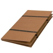 Briggs Healthcare - DMI 552-1950-0000 Twin Folding Bed Board, Brown