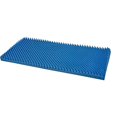 DMI® 33in. x 72in. Hospital Bed Size Convoluted Bed Pad, Blue