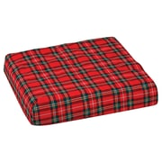 "DMI® 16"" x 18"" x 4"" Foam Convoluted Chair Seat Pad, Plaid"