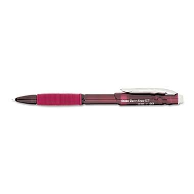 Pentel® Twist-Erase® GT 0.5 mm Mechanical Pencil, Red