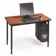 Bretford Voltea 30'' x 24'' Computer Table; Cherry/Black
