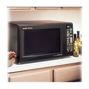 Sharp 1.5 Cu. Ft. 900 Watt Countertop Convection Microwave in Black