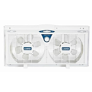 Lasko Lasko 8'' Electrically Reversible Twin Window Fan