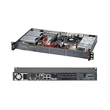 Supermicro® SuperServer 5017P-TLN4F Rack Server, Intel® Core™ i7-3612QE 2.10 GHz