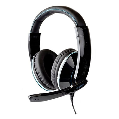 Zagg iFrogz® Caliber Stealth Premium Gaming Headphone With Mic, Black