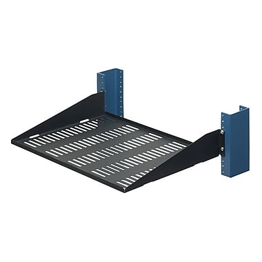 Innovation First 2USHL-022HALF Relay Rack Shelf 13in. Vented
