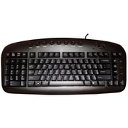 A4Tech KBS-29BLK Wired Slim Keyboard, Black