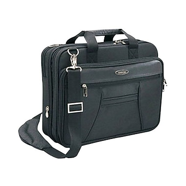 Toshiba Envoy Series Ballistic Polyester Carrying Case For 14in. Laptop, Black