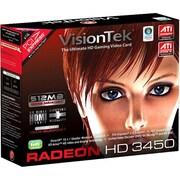 VisionTek® Radeon 3450 Plug-in Card 512MB DDR2 SDRAM Graphic Card