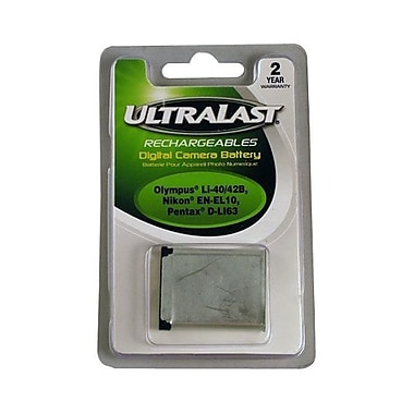 Ultralast™ UL-LI40B 800 mAh Lithium Ion Digital Camera Battery