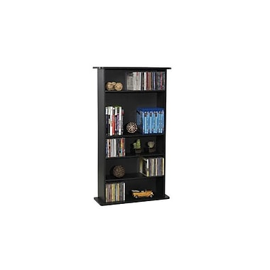 Atlantic® Drawbridge Wood MM Storage Unit, Black