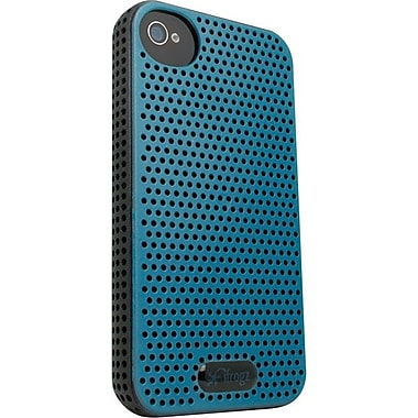 Zagg® ifrogz® Breeze Case For Apple iPhone 4/4S, Blue/Black