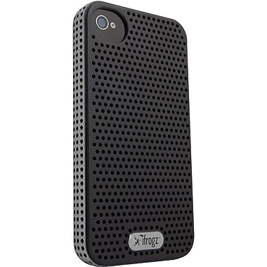 Zagg® ifrogz® Breeze Case For Apple iPhone 4/4S, Silver/Black