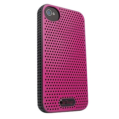 Zagg® ifrogz® Breeze Case For Apple iPhone 4/4S, Pink/Black