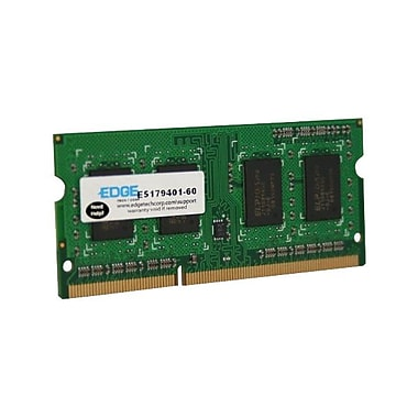 Edge™ 4GB (1 x 4GB) DDR3 (204-Pin SoDIMM) DDR3 1600 (PC3 12800) Memory Module