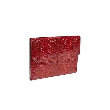 Fabrique Lexington Avenue Sleeve For 9.7in. iPad, Snake Red