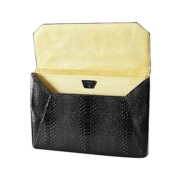 Fabrique Francine Collection Lexington Avenue Sleeve For 11in. MacBook Air, Snake Black