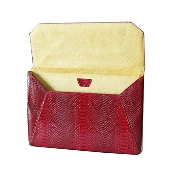 Fabrique Francine Collection Lexington Avenue Sleeve For 11in. MacBook Air, Snake Red