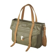 "Fabrique FF MERC Mercer Street 15.6"" Ladies Case, Olive"