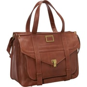 "Fabrique FF MERC Mercer Street 15.6"" Ladies Case, Brown"