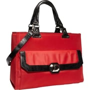 "Fabrique FF MAD MADISON 16.1"" Ladies Case, Red/Black"