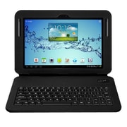 Aluratek   Folio Case With Bluetooth Keyboard For Galaxy Tab 2 and Note 10.1, Black