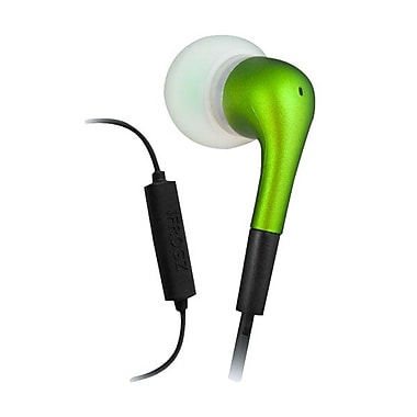 ifrogz® Zagg® Luxe Earpollution Bud With Mic Earbuds, Green