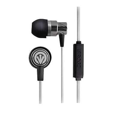 ifrogz® Zagg® Earpollution Transport Earbuds With Mic, Silver