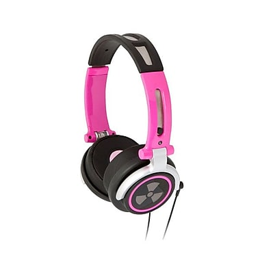 ifrogz® Zagg® CS40 Earpollution Personal Headphones, Pink