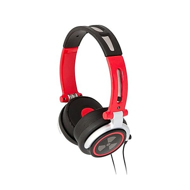 ifrogz® Zagg® CS40 Earpollution Personal Headphones, Red