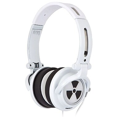 ifrogz® Zagg® CS40 Earpollution Personal Headphones, White
