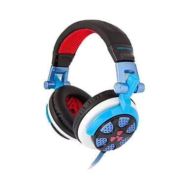 ifrogz® Zagg® Earpollution Personal Ronin Headphones, Blue/Red