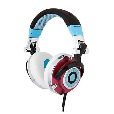 ifrogz® Zagg® Earpollution Personal Mogul Headphones, Blue/Red