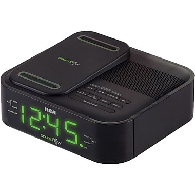 RCA RC250BK Soundflow Wireless Dock With Clock Radio