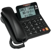 VTech® CL2940 Corded Phone With Large Tilt Display, 25 Name/Number