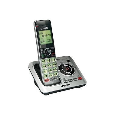 VTech® CS6629 Cordless Phone With Speakerphone, 50 Name/Number