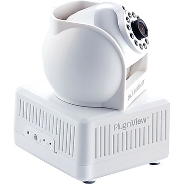 Diamond PlugnView Internet Night Vision Security Camera kit