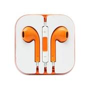 4XEM 4XAPPLEARPODOR Earpod Earphone with Remote and Mic, Orange