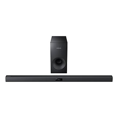 Samsung AudioBar 120W 2.1 CH Sound Bar System With Wired Subwoofer, Black