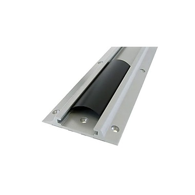 Ergotron® 34in. Wall Track For CPU, Silver